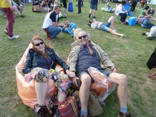Most excellently comfortable festival seats
