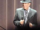 Leonard Cohen Wembley Arena September 8th 2012