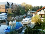 New and old, modern houses & old Marina cottage