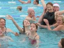 Start the year with a splash, Christmas swim in Hampton Open air Pool