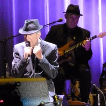 We have been to see Leonard Cohen 6 times since he began his world tour in 2009