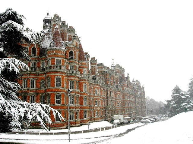 Royal Holloway University of London 2008
