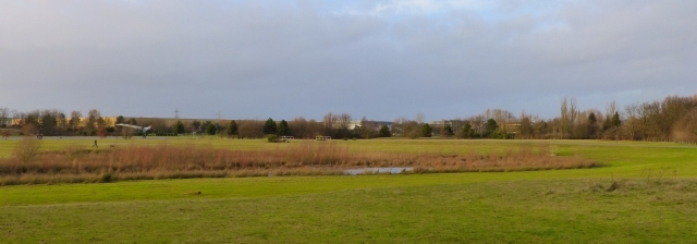 Wilson's favourite swamp (See Concorde to the left of the photo)