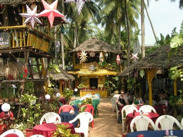 Festive restaurant in Varkala Kerala