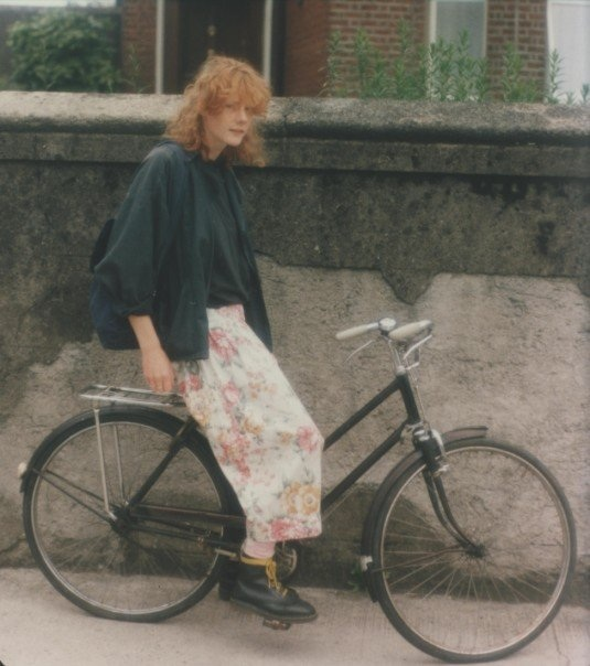 My very first bike, I bought it for £30. It gave me independence, freedom, and got me all over Dublin from Killiney to Howth, (once on the same day!!). I finally won a bike in a competition that had 5 gears, but my classic gearless bike got me really fit!