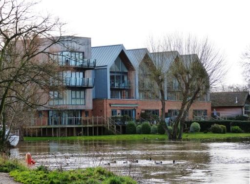 New Houses on Whittets Ait, Weybridge