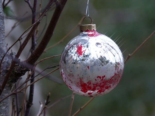 Bauble in the woods