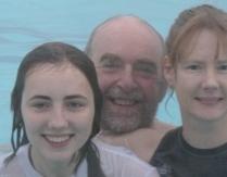 Christmas Swim 2011 Family close up :)
