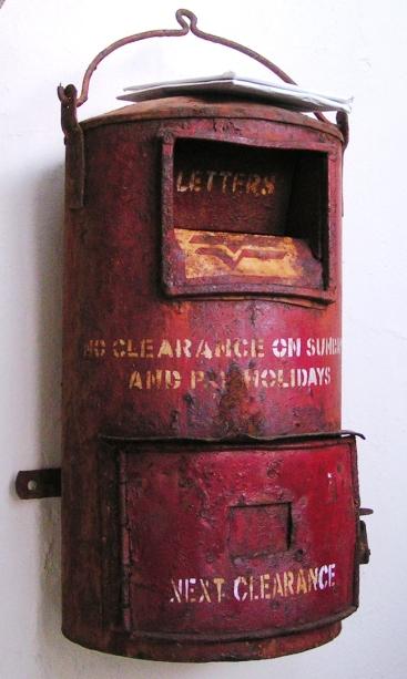 Letter box Lighthouse Beach Vizhinjam, Kerela