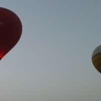 Hot air balloon trip in Luxor, Egypt