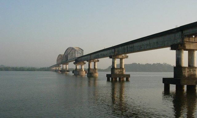 The Zuari Bridge or Konkan Railway Bridge is a railway bridge between North Goa and South Goa
