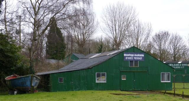 Appropriately named Wilson's Boatyard