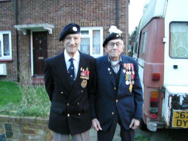 Gordon & his friend Doug 2007