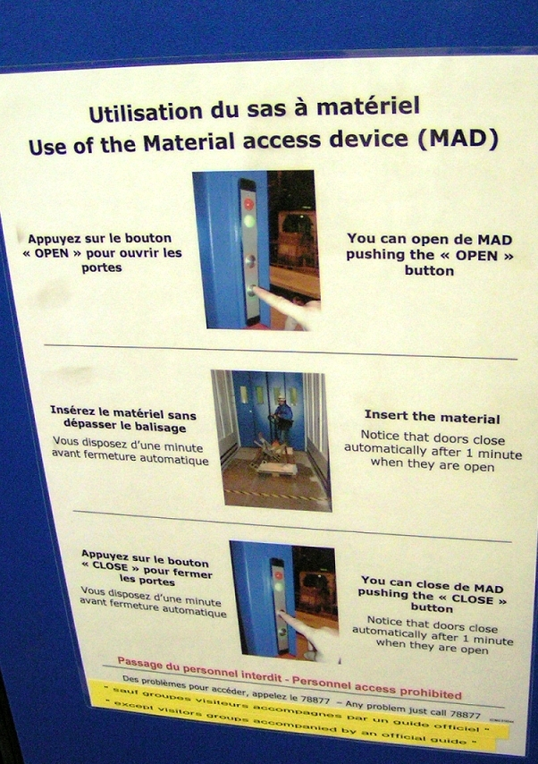 The MAD device; instructions