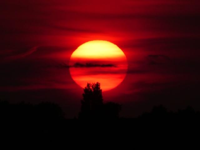 Sunset Hayling Island