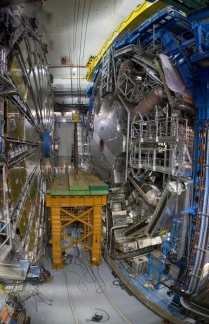 A 'Fish Eye View of the Detector & endcap