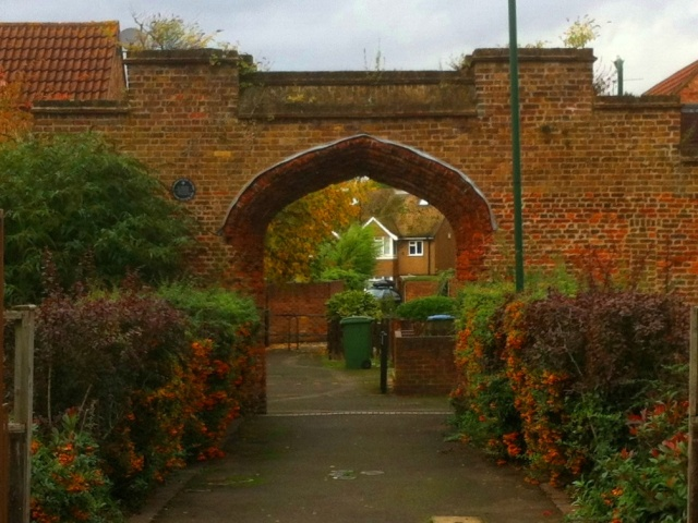16th Century Tudor Carriage Gateway into the Palace Gardens