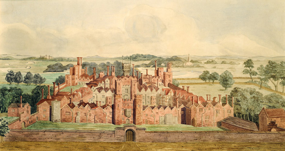 Painting of Oatlands Palace