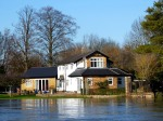 House in Shepperton losing its garden