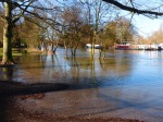 Flooding at the Rowing Club