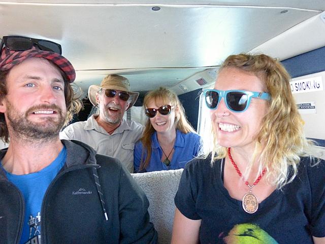 Tiny plane to Stewart Island