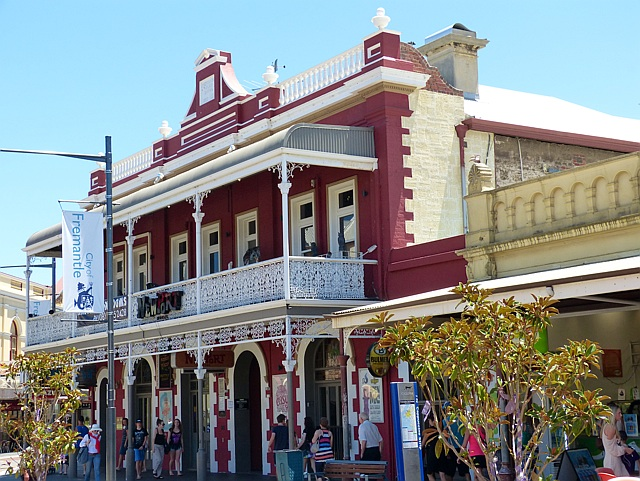 Colonial style buildings in Freemantle