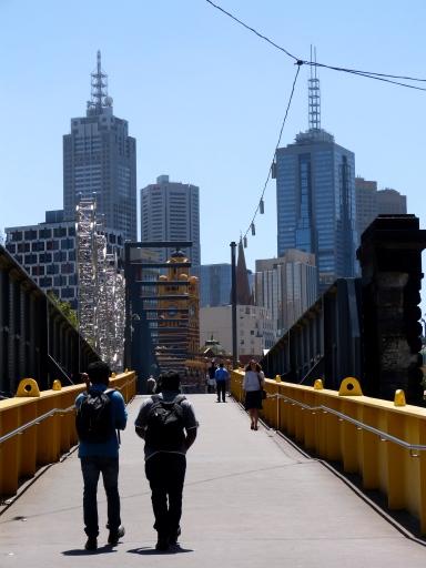 Foot Bridge Melbourne