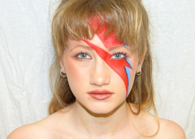 Charlotte as Aladdin Sane