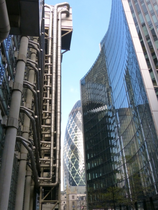 The Llouds Building & the Gherkin